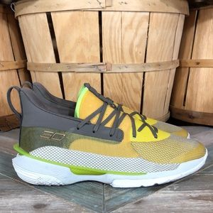 Under Armour Curry 7 'Zeppelin Yellow' Basketball